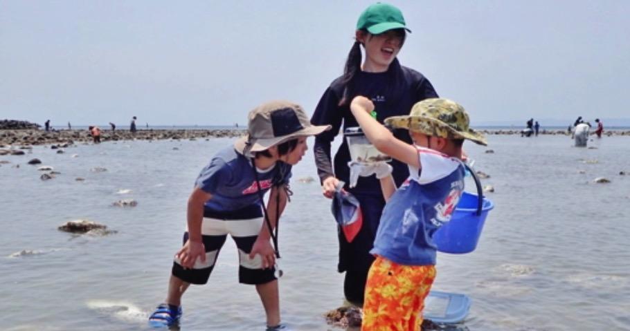 《鎌倉 海のアカデミア》第一弾!和賀江島・生き物大調査!